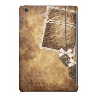 Vintage Scrapbook Page iPad Mini Case