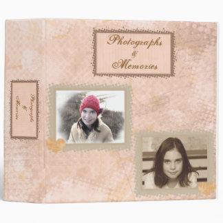 Vintage Scrapbook Photo Binder
