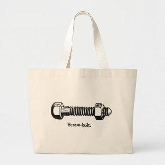Vintage Screw Bolt Tote Bag