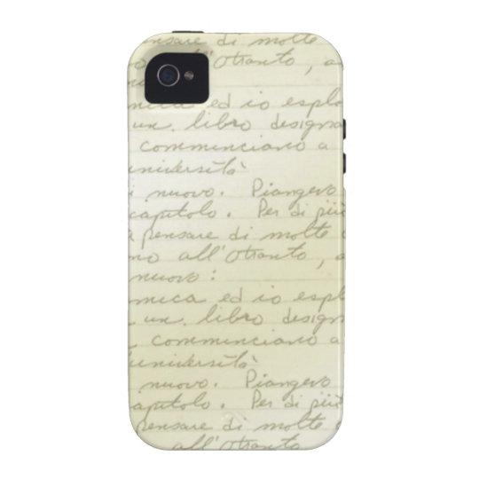 Vintage Scribble Deco iPhone 4/s Case