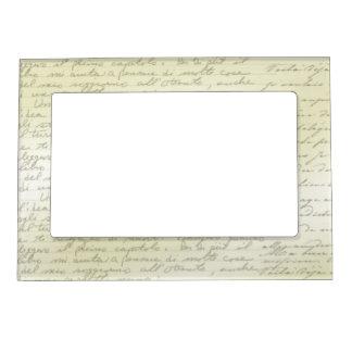 Vintage Scribbles Deco Magnetic Picture Frame