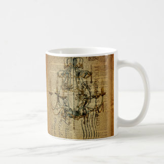 vintage scripts French Country Vintage Chandelier Coffee Mug