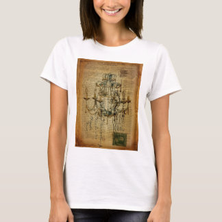 vintage scripts French Country Vintage Chandelier T-Shirt
