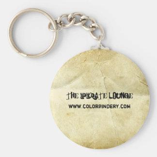Vintage Scrolls Keychain