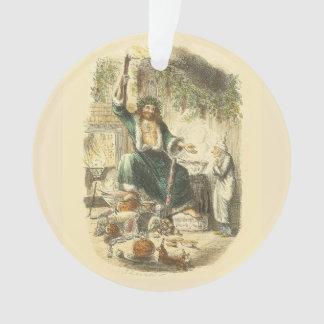 Vintage Scrooge Ghost of Christmas Present Ornament
