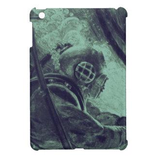 Vintage Scuba Diver Industrial Welding Underwater iPad Mini Cases