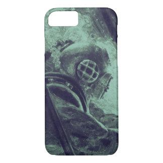 Vintage Scuba Diver Industrial Welding Underwater iPhone 8/7 Case