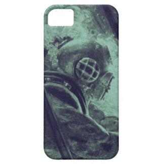 Vintage Scuba Diver Industrial Welding Underwater iPhone SE/5/5s Case