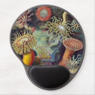 Vintage Sea Anemones by Ernst Haeckel Gel Mousepad