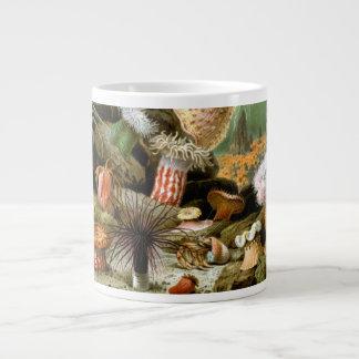 Vintage Sea Anemones, Marine Life Animals Giant Coffee Mug