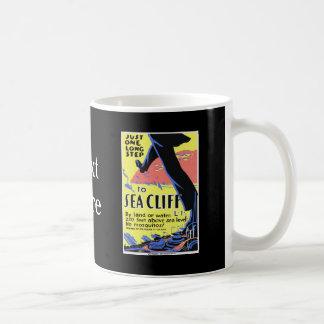 Vintage Sea Cliff Classic White Coffee Mug