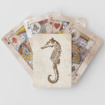 Vintage Sea Horse Beach Bicycle Card Decks