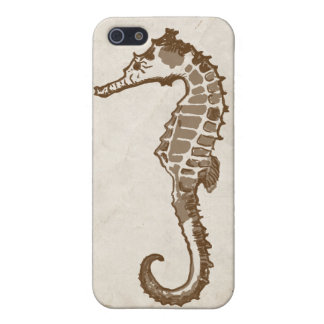 Vintage Sea Horse Cover For iPhone SE/5/5s