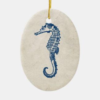 Vintage Sea Horse Christmas Ornaments