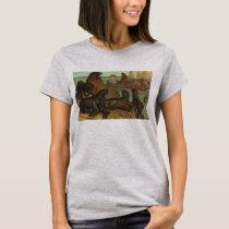 Vintage Sea Lions on the Beach, Marine Life Animal T-Shirt