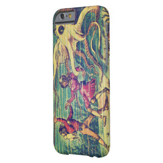 Vintage Sea Monster Friend or Foe Barely There iPhone 6 Case