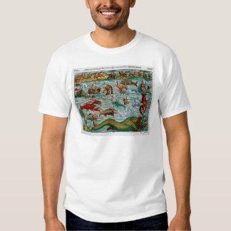 Vintage Sea Monsters Tee Shirt