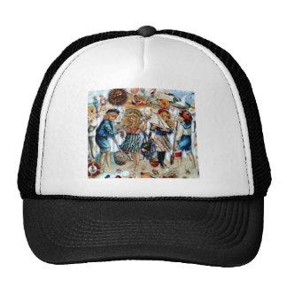 Vintage Sea Shells Holiday Boys Girls Trucker Hat
