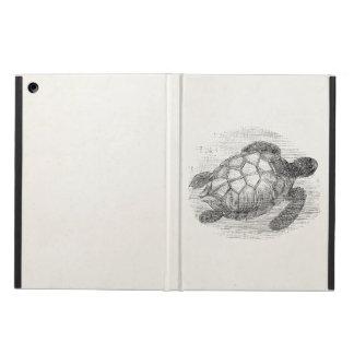 Vintage Sea Turtle Personalized Marine Turtles iPad Air Case