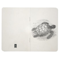 Vintage Sea Turtle Personalized Marine Turtles Journal