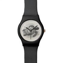 Vintage Sea Turtle Personalized Marine Turtles Wrist Watches