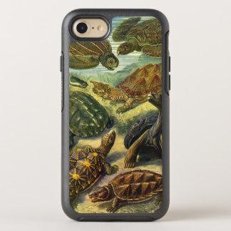 Vintage Sea Turtles and Tortoises by Ernst Haeckel OtterBox Symmetry iPhone 8/7 Case