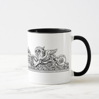 Vintage - Seahorse and Griffin Insignia Mug