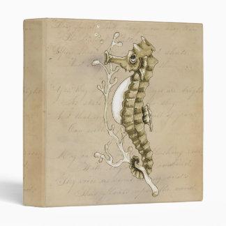Vintage Seahorse Binder