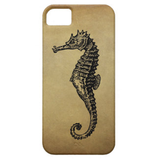 Vintage Seahorse Illustration iPhone 5 Case