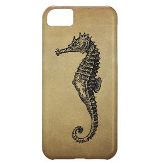 Vintage Seahorse Illustration iPhone 5C Case