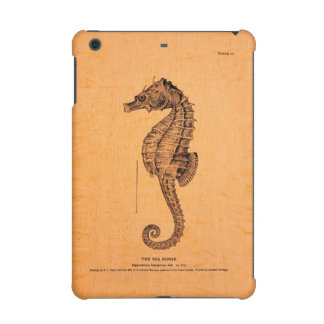 Vintage Seahorse Illustration iPad Mini Covers