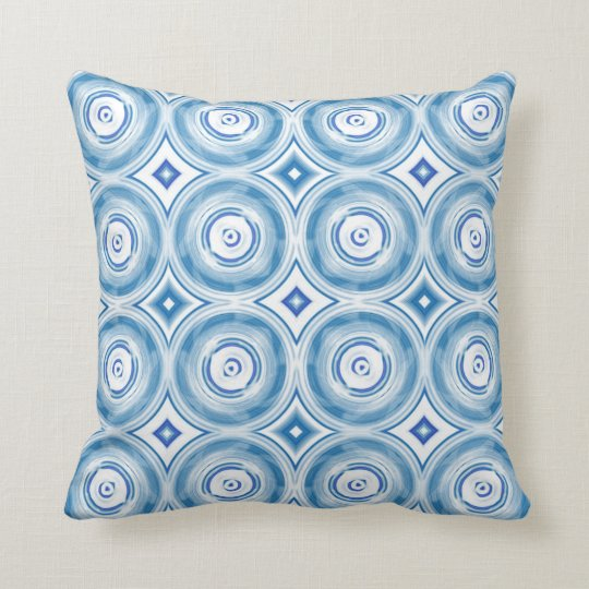Vintage Seamless abstract ornate 13 Throw Pillow
