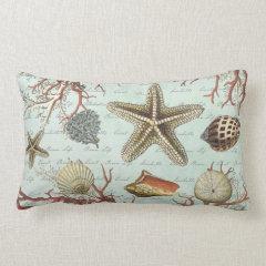 Vintage Seashells...pillow
