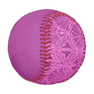 Vintage Seashells Pink Baseball