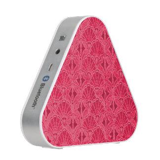 Vintage Seashells Red Bluetooth Speaker