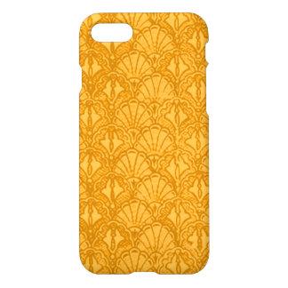 Vintage Seashells Yellow Gold Mango iPhone 8/7 Case