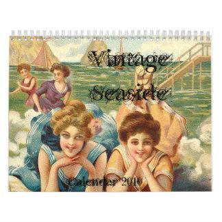Vintage Seaside Calendar 2010