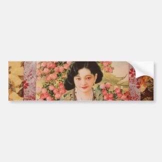 Vintage Season's Greetings Bumper Stickers