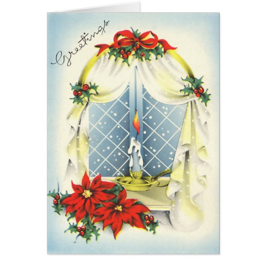 Vintage Season's Greetings Card