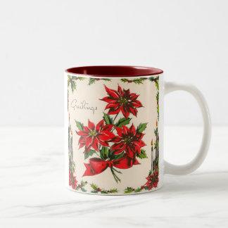 Vintage Season's Greetings Mug