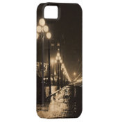 Vintage Seattle Street iPhone 5 Covers