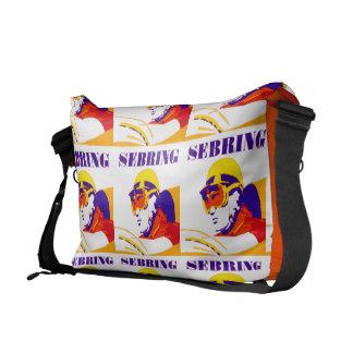 Vintage Sebring Courier Bag