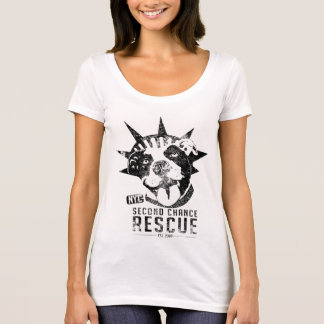Vintage Second Chance Rescue Logo T T-Shirt