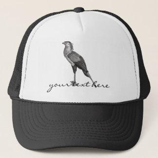 Vintage Secretary Bird Trucker Hat