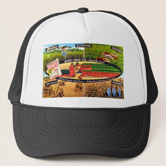 Vintage Seed Ad Trucker Hat