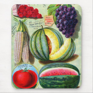 Vintage Seed Catalog Iowa Seed Co Cover Art Mouse Pad