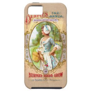 Vintage Seed Packet Art iPhone 5 Case