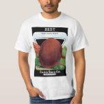 Vintage Seed Packet Label Art, Beet Vegetables T-Shirt