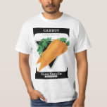 Vintage Seed Packet Label Art, Danvers Carrots T-Shirt