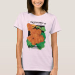 Vintage Seed Packet Label Art, Nasturtium Flowers T-Shirt